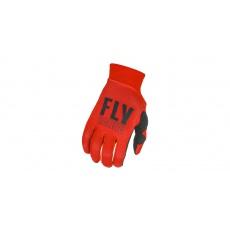 rukavice PRO LITE 2021, FLY RACING (červená/černá)