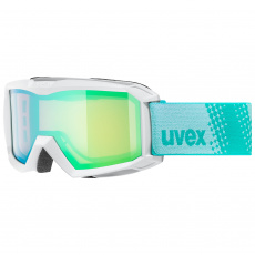 lyžařské brýle UVEX FLIZZ FM, white/green-rose (1030)