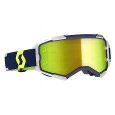 brýle FURY, SCOTT - USA (modrá/šedá/ zluté chrom plexi)