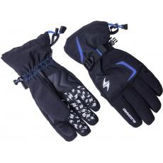 lyžařské rukavice BLIZZARD Reflex, black/blue