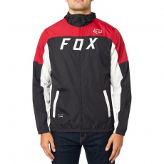 Pánská bunda Fox Moth Windbreaker Black/ Red
