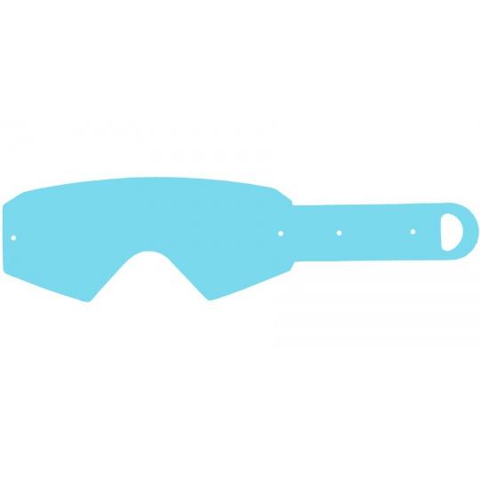 strhávací slídy plexi pro brýle ETHEN řady 05, Q-TECH (10 vrstev v balení, čiré)