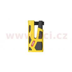 zámek na kotoučovou brzdu Granit Sledg Grip (tloušťka třmenu 13 mm), ABUS (fluo žlutý)