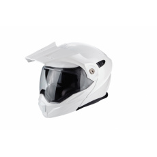 Moto přilba SCORPION ADX-1 solid pearl bílá