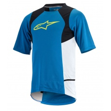 Alpinestars Drop 2 S/S Jersey dres Bright Blue Acid Yellow 16