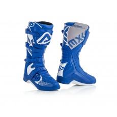 ACERBIS motokrosové boty X Teammodrá/bílá