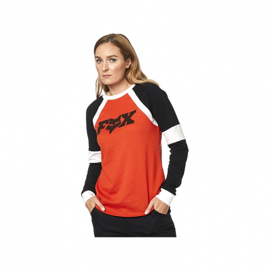 Dámské triko  Fox All Time Ls Top Orange