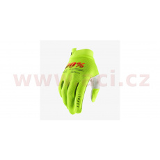 rukavice iTRACK, 100% - USA (fluo zelená)