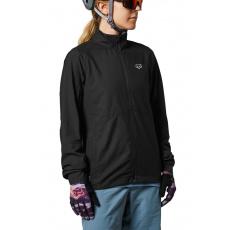 Dámská cyklo bunda Fox W Ranger Wind Jacket Black