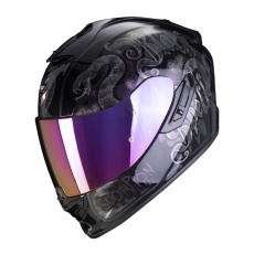 Moto přilba SCORPION EXO-1400 AIR BLACKSPELL černý chameleon