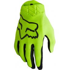 Pánské MX rukavice Fox Airline Glove Fluo Yellow