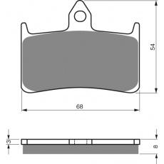brzdové desky GOLDFREN 069 S3