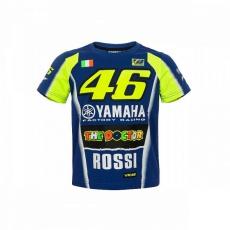 Dětské triko Valentino Rossi VR46 YAMAHA modré 314709