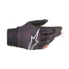rukavice SMX-E 2021, ALPINESTARS (černá/oranžová fluo)