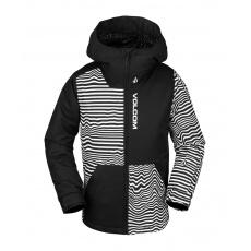 Dětská bunda Volcom Vernon Ins Jacket Black Stripe