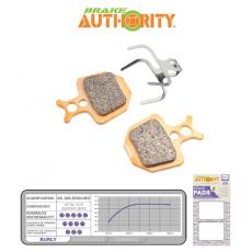 Brake Authority Burly - Formula ORO brzdové destičky
