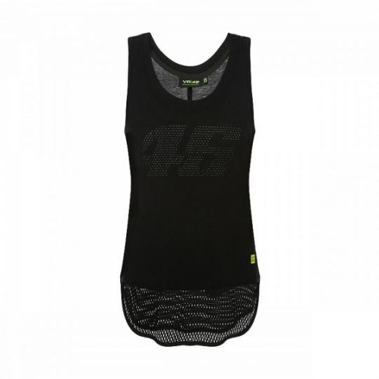 Dámské triko Valentino Rossi CORE černé 364704