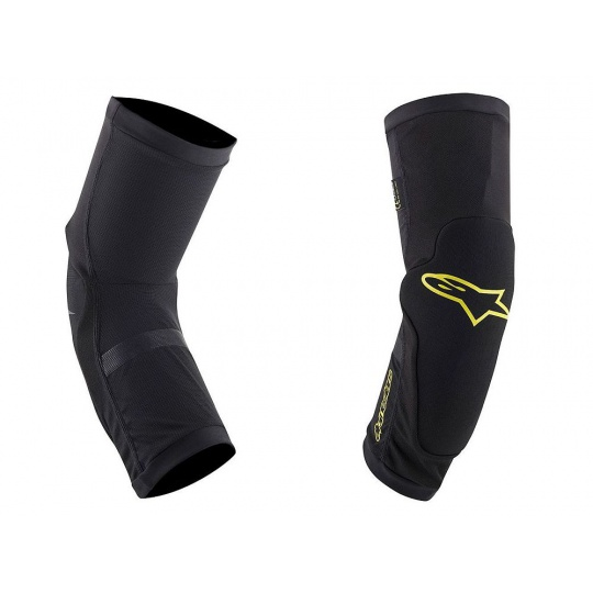 Alpinestars PARAGON PLUS knee Black/Yellow- chrániče kolen
