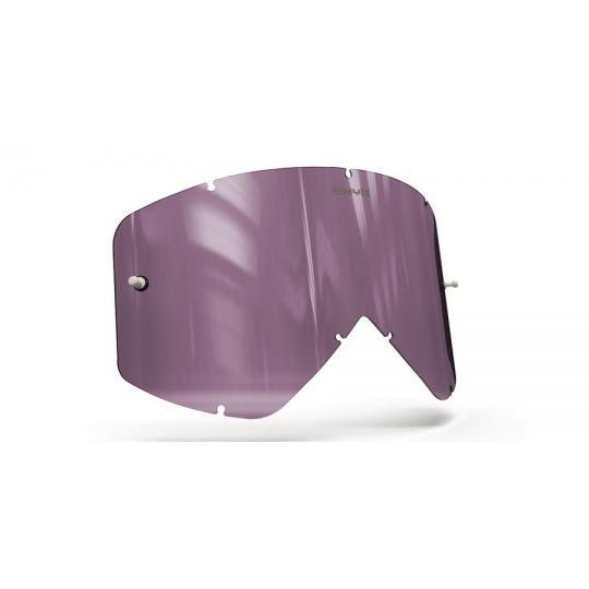 plexi pro brýle SMITH FUEL/INTAKE, ONYX LENSES (fialové s polarizací)