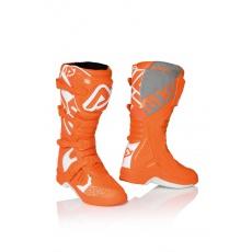 ACERBIS motokrosové boty X Teamoranž/bílá