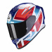 Moto přilba SCORPION EXO-R1 AIR INFINI bílo/červeno/modrá