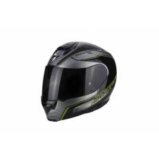 Moto přilba SCORPION EXO-3000 AIR STROLL černo/stříbrno/neonově žlutá