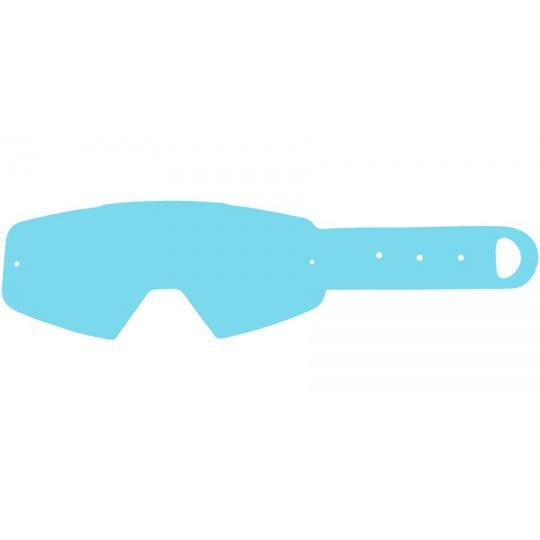 strhávací slídy plexi pro brýle PITCHA, Q-TECH (50 vrstev v balení, čiré)