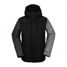 Pánská bunda Volcom 17Forty Ins Jacket Black Check