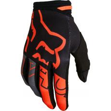 Pánské rukavice Fox 180 Skew Glove Black/Orange