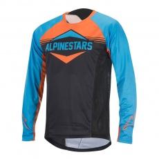 Alpinestars Mesa LS Jersey dres Bright Blue Bright Orange