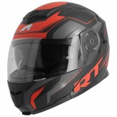 Moto přilba ASTONE RT1200 WORKS matná černo/červená