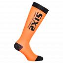 SIXS RS kompresní podkolenky černá/oranžová,
