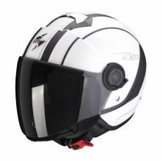 Moto přilba SCORPION EXO-CITY SCOOT matná bílo/černá