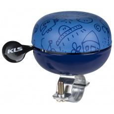 KELLYS Cyklistický Zvonek Bell 60 Doodles blue