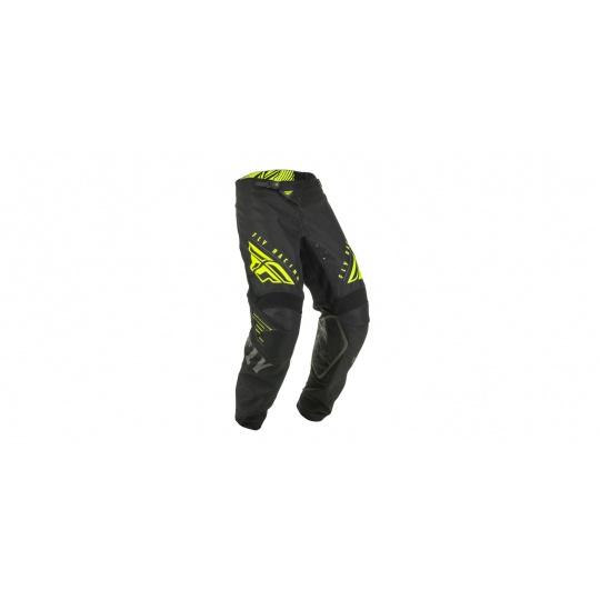 kalhoty KINETIC K220, FLY RACING (černá/šedá/hi-vis)