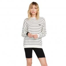 Dámský svetr Volcom Simply Stone s Knit Stripe