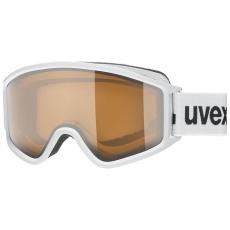 lyžařské brýle UVEX G.GL 3000 P, white dl/pola-clear