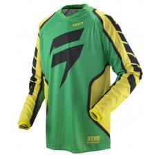 Pánský MX dres Shift Strike Retro Yersey Green