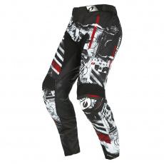 Kalhoty O´Neal Mayhem SCARZ černá/bílá/červená