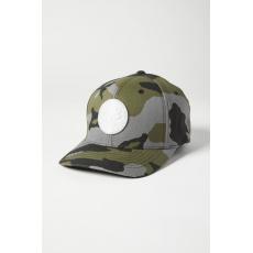 Pánská čepice Fox Session Flexfit Hat Green Camo