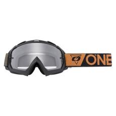 Brýle O´Neal B-10 SPEEDMETAL černá/hnědá