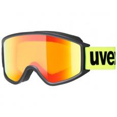lyžařské brýle UVEX G.GL 3000 CV, black mat SL/mirror orange (2230)