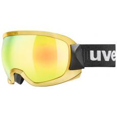 lyžařské brýle UVEX CONTEST FM chrome, mirror gold dl/clear (6030)