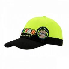 Kšiltovka Valentino Rossi VR46 černo/žlutá 305403