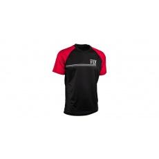 dres ACTION, FLY RACING (černá/červená)