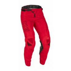 kalhoty KINETIC FUEL, FLY RACING - USA 2022 (červená/černá)