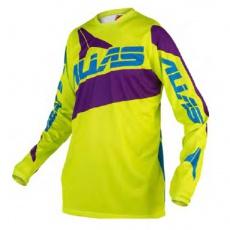Motokrosový dres ALIAS MX A2 neon yellow/purple 2160-372