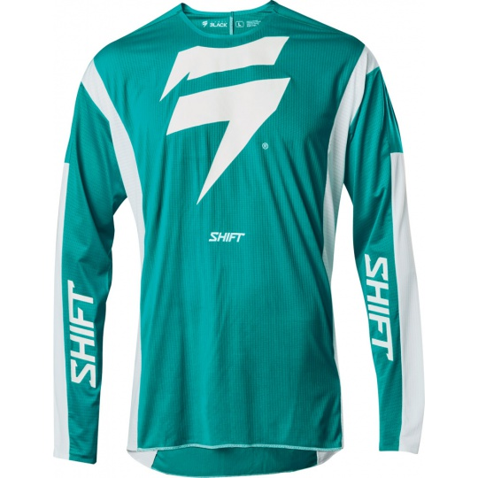 Pánský mx dres SHIFT 3LACK LABEL RACE JERSEY Green