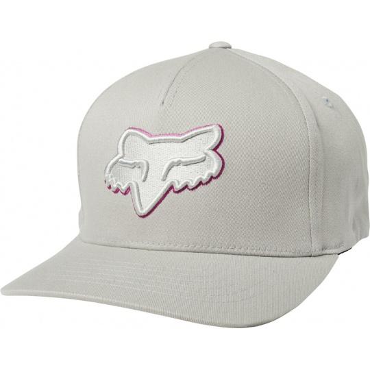 Pánská čepice Fox Epicycle Flexfit Hat Grey/Pink