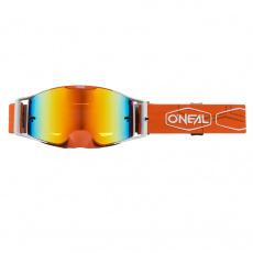 Brýle O´Neal B-30 HEXX oranžová/bílá, radium červená